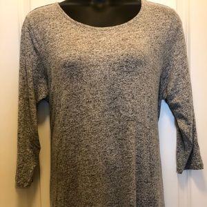 Beautiful Soft Light Gray Heather Sweater